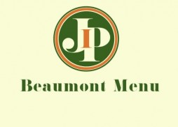 Jacks Beaumont Complete Menu