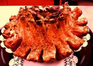 Pork Crown Roast - Seasoned & Seared - All Natural USDA Pork